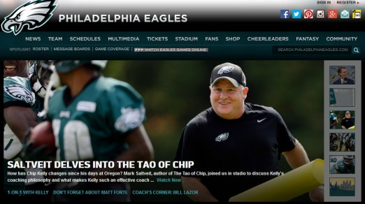 The Eagles organization gets on board