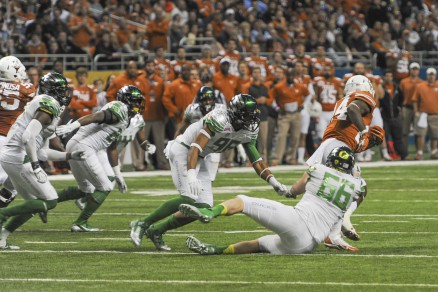 Oregon looks to re-tool along the defensive line