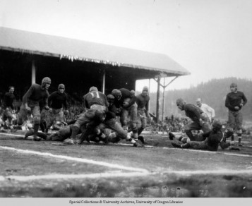 Oregon at Stanford, 1927