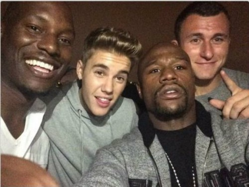 Don't all 2nd string quarterbacks get wasted with Money Mayweather and The Biebs?