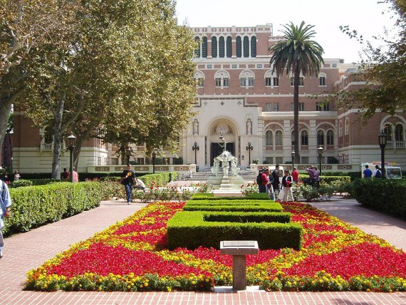 "Contrary to urban legend, USC does not stand for ""University of Spoiled Children."""