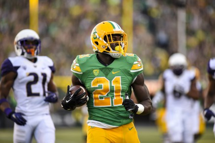 Royce Freeman continues to distance himself from the pack as Oregon's top RB.