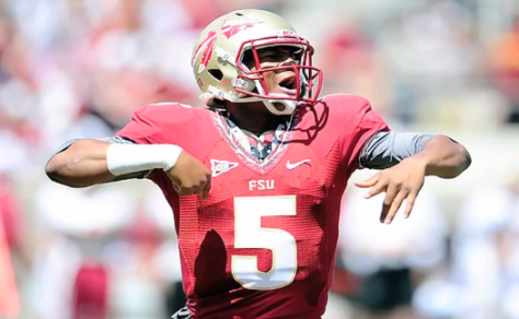 The inconsistency of Jameis Winston's throws make him vulnerable to be intercepted.