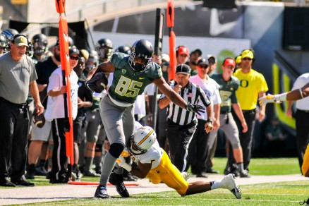 Pharaoh Brown was viewed as one of of the top TE's in the country before he was injured in the Utah game