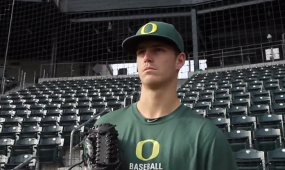 Cole Irvin hopes to return this year as one of Oregon's best pitchers.