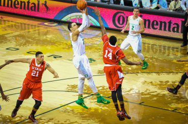 Dillon Brooks is averaging 12 points and five rebounds this season.