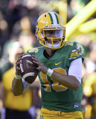 Morgan Mahalak hopes to be the starting quarterback for the Oregon Ducks in 2015
