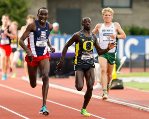 Edward Cheserek giving it his all at last years NCAA Championship