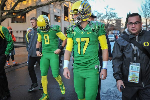 There is no better example of this 'Next Man Up' philosophy then Jeff Lockie, the guy stuck watching Mariota succeed. Yet, his attitude has always been about the team, and he has never acted in a selfish way.
