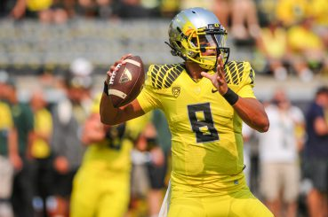 In 2012 Graham expected this rookie QB to fold on the road in Sun Devil Stadium. Halftime: 43-7, Oregon.