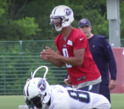 Mariota is proving to be further along than many would have expected so far through training camp.