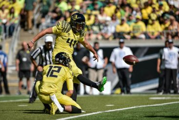 The Ducks are less likely to lose because of a missed field goal this year.