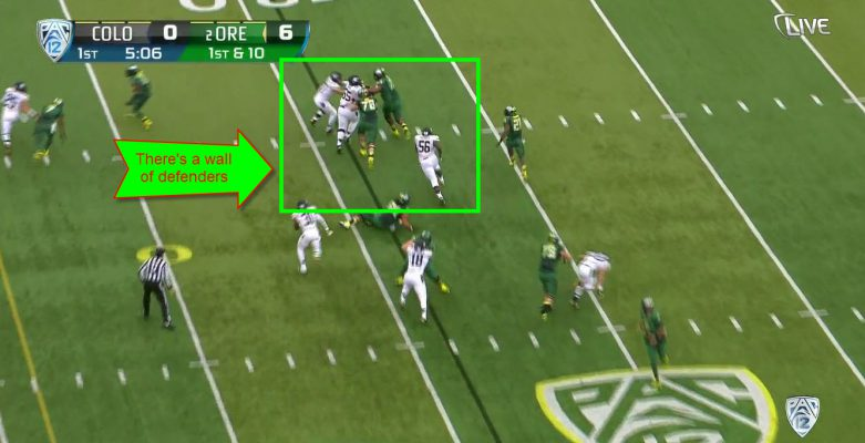 Colorado doesn't have the most talented defense, but they have great discipline and make plays.