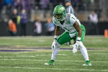 Young players like Arrion Springs have helped improve Oregon's defense.