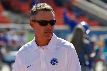 Coach Chris Petersen while at Boise State